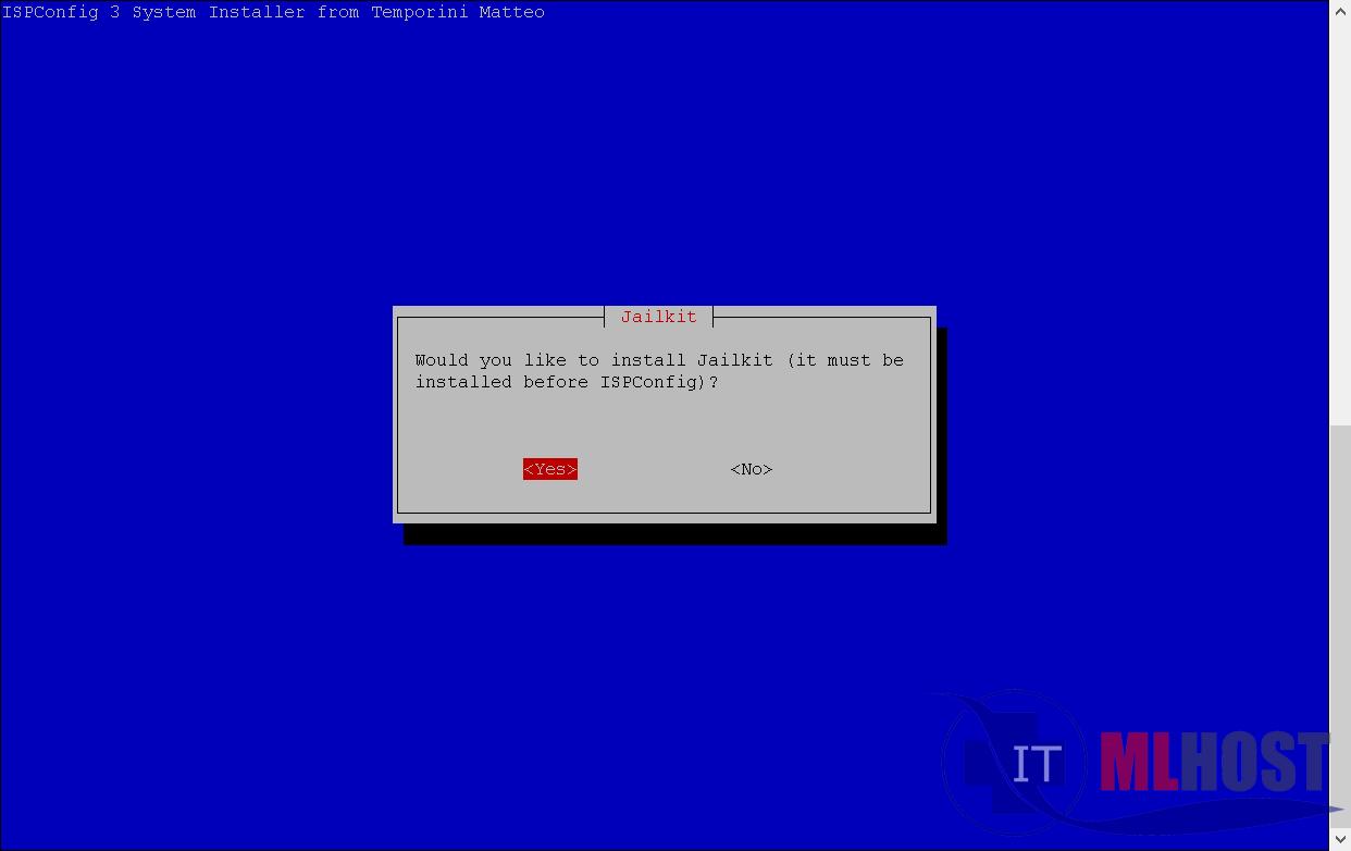 Как установить изоляцию пользователей JailKit на хостинге с ISPconfig 3