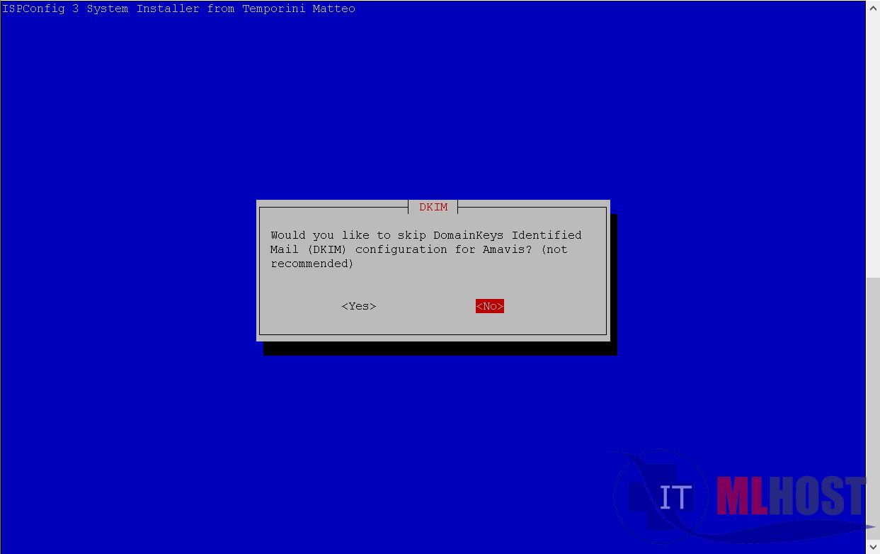 Как установить DKIM или DMARC на хостинге с ISPconfig 3
