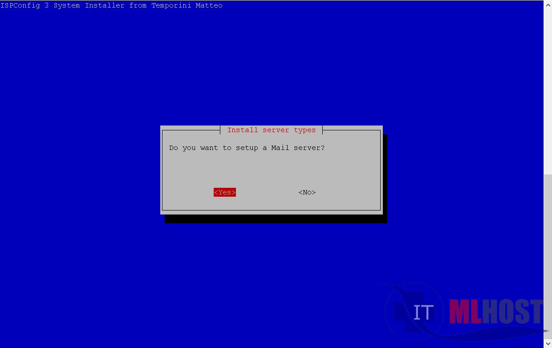 Как установить почтовый сервер на хостинге с ISPconfig 3